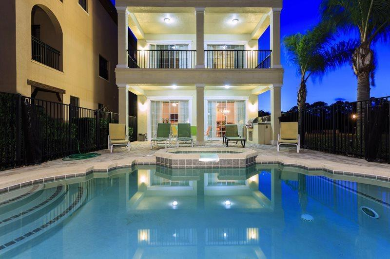 This Reunion Palace lives up to its name with 7 beds, 7 baths and 2 game rooms - RVH032 Reunion Palace - 8 Bed, with 2 Game Rooms - Four Corners - rentals