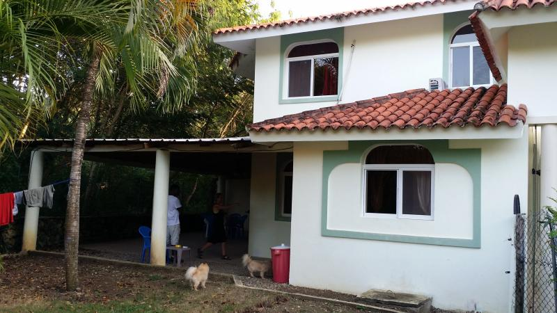 The front of the house - 2 Bedroom, POOL,SUV/CAR INCLUDED PET FRIENDLY - Sosua - rentals