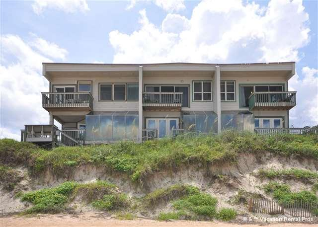 Vilano Beach pairs up-market living with retro Florida surf char - Island Time Beach House, Ocean Front on a High Dune - Saint Augustine - rentals
