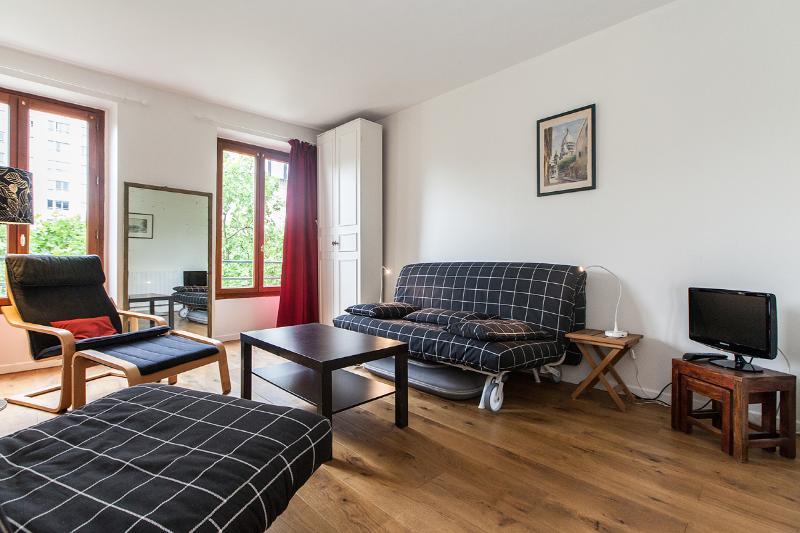 Main room - Delightful, renovated studio Montparnasse - P14 - Paris - rentals