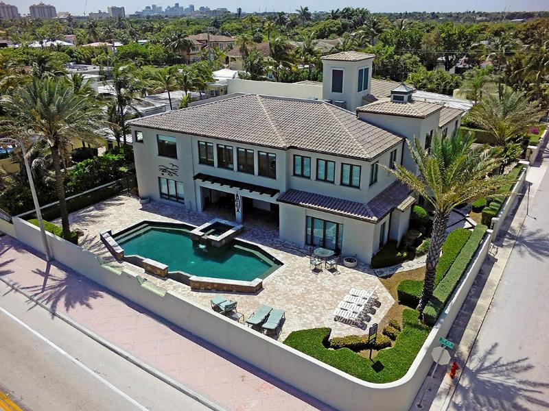 Beach Mansion.. Luxury Oceanfront Estate. - Image 1 - Fort Lauderdale - rentals