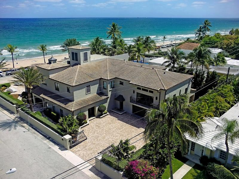 Beach Mansion..Luxury Oceanfront home. - Image 1 - Fort Lauderdale - rentals
