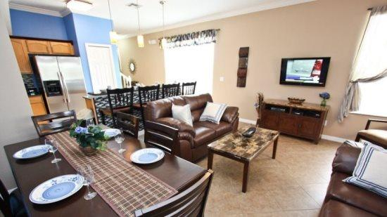 3 Bed 3 Bath Bright Corner Town Home with Nature View. 17503BD - Image 1 - Orlando - rentals