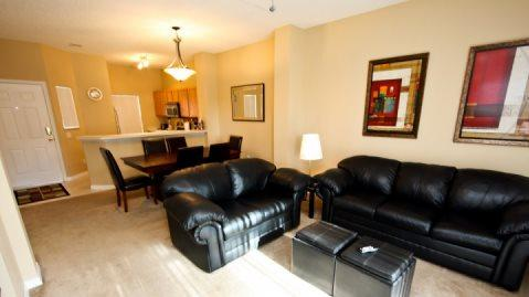 3 Bedroom 2.5 Bathroom Town Home In Emerald Island Resort. 8461CCL - Image 1 - Orlando - rentals