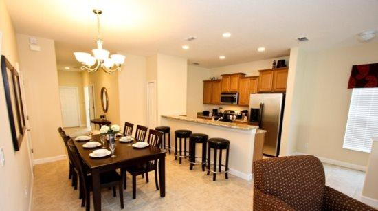 5 Bedroom 4 Bathroom Town Home in Paradise Palms Resort. 8981CAT - Image 1 - Orlando - rentals