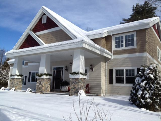 0.1 Mile Walk to Center Main Street - High Peaks House - Lake Placid - rentals