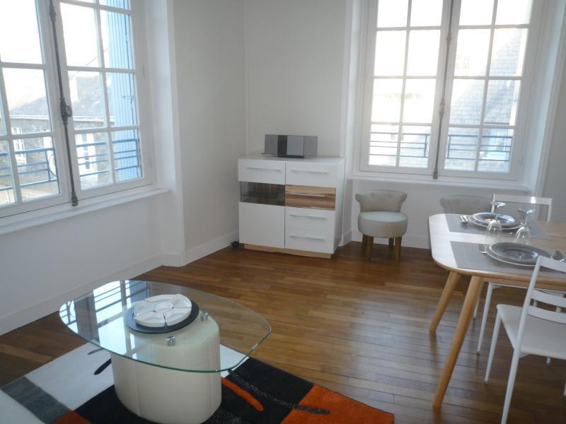 Living room - Historic Center of Quimper - Bright Apartment - Quimper - rentals