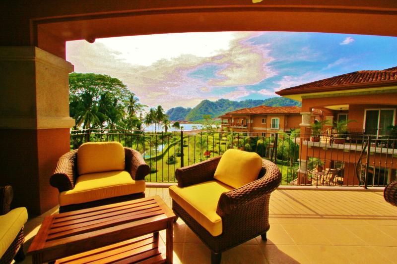 Terrace - Bay Residence 7A, Los Sueños Resort. - Herradura - rentals