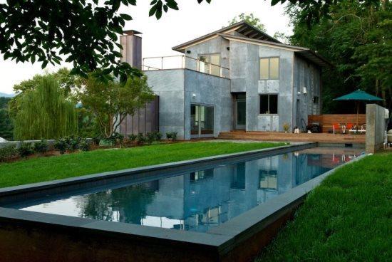 Woolen Mills Retreat:: Modern home with pool - Image 1 - Charlottesville - rentals