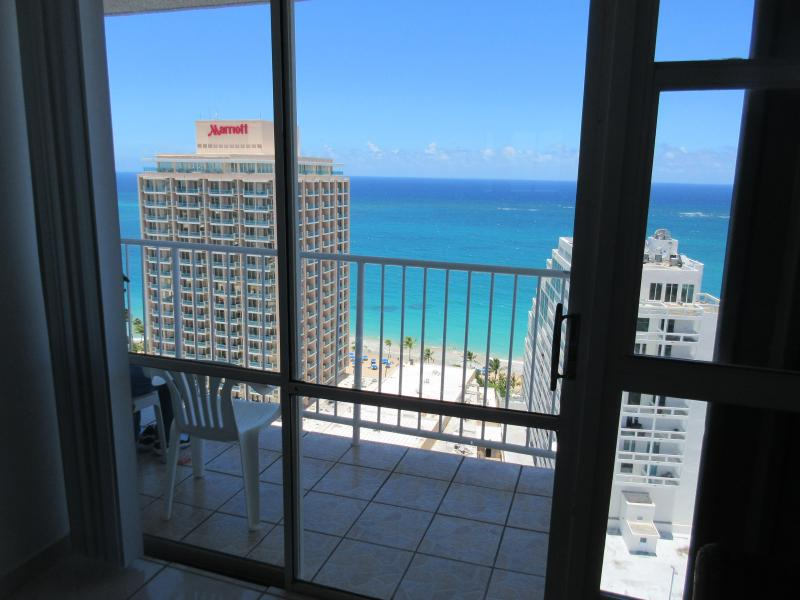 Across the Marriott hotel - Great Condo w/Breathtaking Ocean Views! - San Juan - rentals