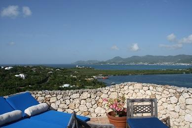 Villa Maison de Miki. Mount Rouge in Terres Basses, Saint Martin, 4 bedroom Villa with spectacular views - Image 1 - Terres Basses - rentals