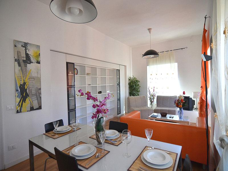 Living room - Nice apartment near Basilica of St. Peter - Rome - rentals