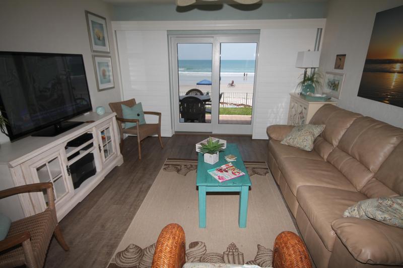 Living Room - Sea Coast Gardens III 105 - New Smyrna Beach - rentals