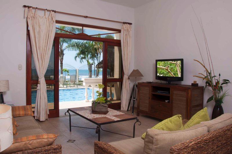 Main living area - Paloma Blanca 1J 1st Floor Ocean View - Jaco - rentals