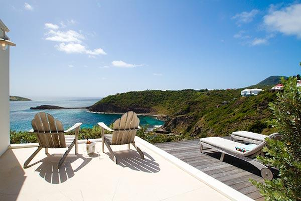 Cozy villa with a great view over the ocean WV BBE - Image 1 - Pointe Milou - rentals