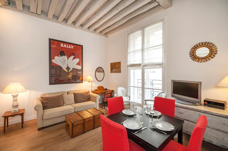 Living Room - Charming 2BR in Saint Germain des Près - Paris - rentals