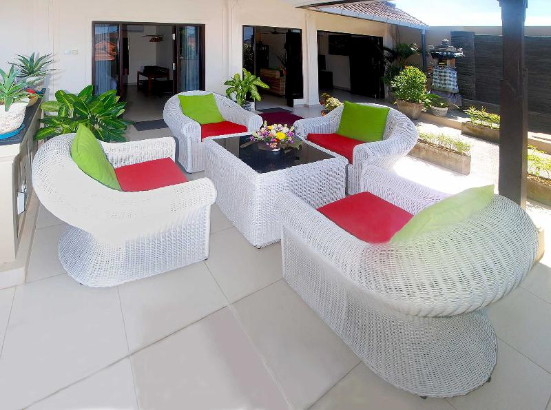 Seating area - Villa Taluh - Sanur - rentals