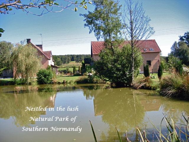 La Chatouillette Coach House Gite - La Chatouillette Coach House Gite & Carp Lake - Normandy - rentals