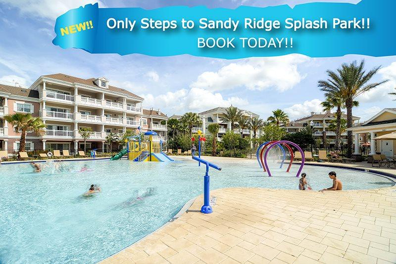 Steps to Splash Park | Ground Floor Condo with Ideal Location in Sandy Ridge, Only Steps to Splash Park & Upgraded Electronics - Image 1 - Kissimmee - rentals