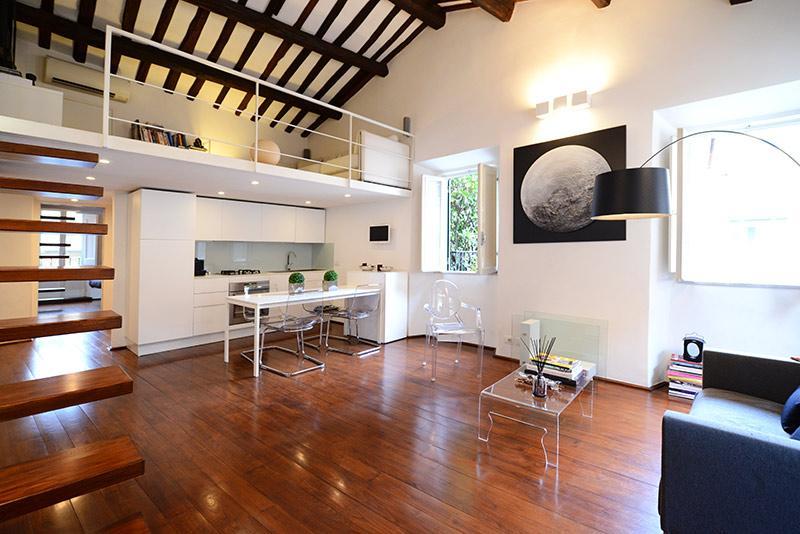 Trastevere stylish loft - Image 1 - Rome - rentals