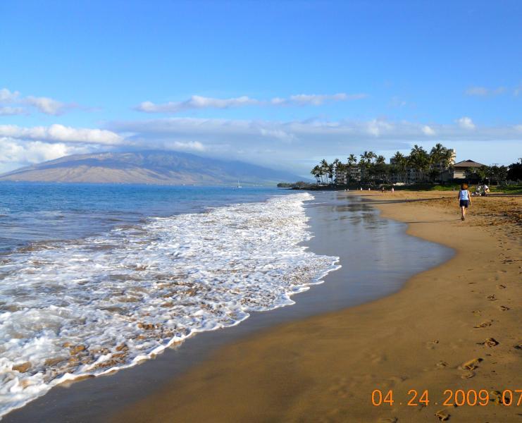 Kamaole Beach. Steps From Condo - Spacious, Ocean View, 2B, 2Bath, Top Cornor Unit, Walk To The Beach, Walking Distance To Restaurants, Shopping - Maui - rentals