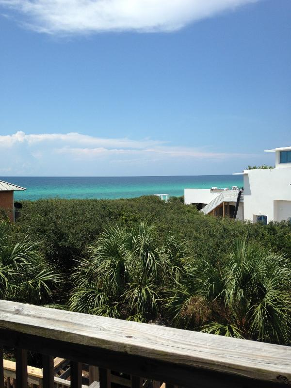 Views from balcony!  5 Seconds to the beach! - On South 30A Beachside! Townhouse in Serenity - Seacrest - rentals