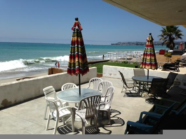 Walk Out You Living Room to Your Private Patio - Beach Condo Right on the Sand 061 - Capistrano Beach - rentals