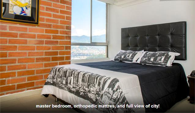 Beautiful 3 bed, great view, pool. - Image 1 - Medellin - rentals