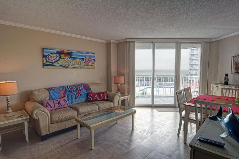 Living Area - St. Regis 3104 -2BR_8 - North Topsail Beach - rentals