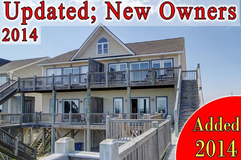 Goldsboro Ln - Goldsboro Lane 205 Oceanfront! | Internet, Jacuzzi - North Topsail Beach - rentals