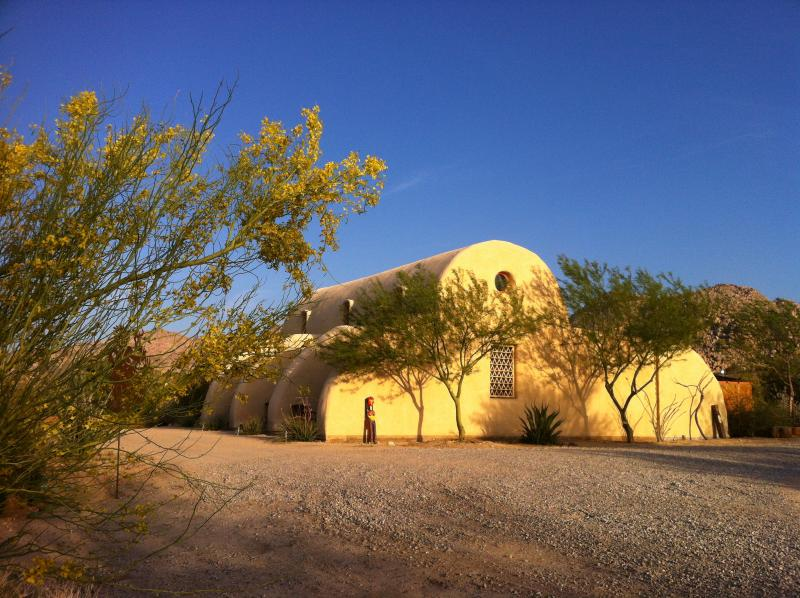 straw bale house in a desert oasis - ~ High desert elegance and tranquility ~ - Joshua Tree - rentals