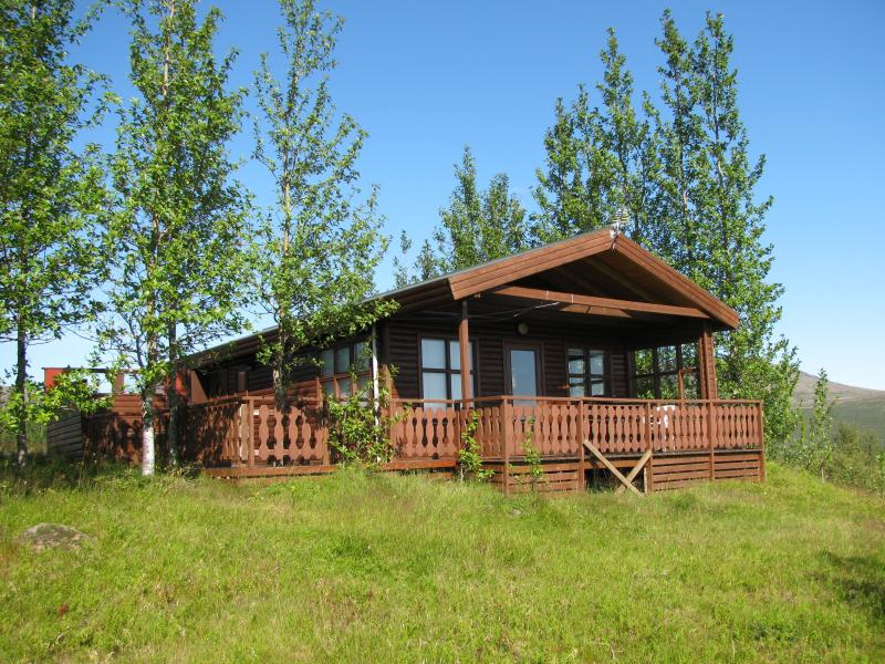 Front view - Two bedroom cottage with hot tub - Geysir - rentals