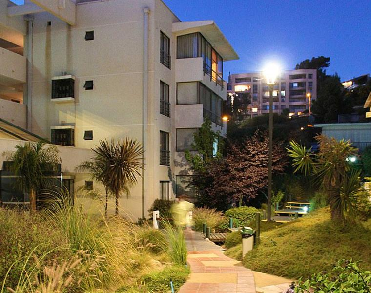 Exteriores jardines - Apartamento en Reñaca Viña del Mar en Condominio - Renaca - rentals