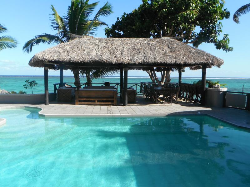 Entertainment Bure overlooking the lagoon - Coral Palms Exclusive Beachfront Private Villa - Sigatoka - rentals