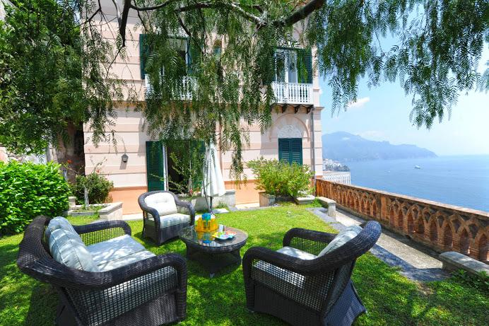 Unique private furnished garden with sea view - Great Views, Unique Garden, Walk to Beach & Town - Amalfi - rentals
