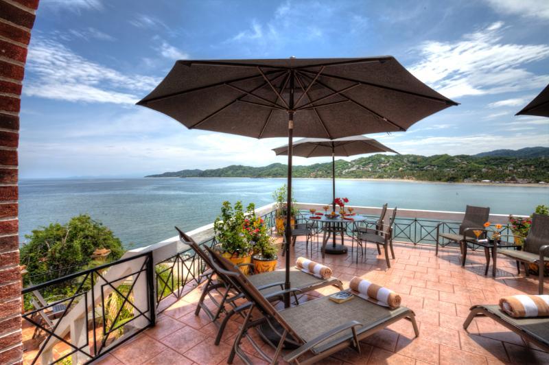 Terrace - CASA DON, 2bed/2bath, huge terrace, best location - Sayulita - rentals