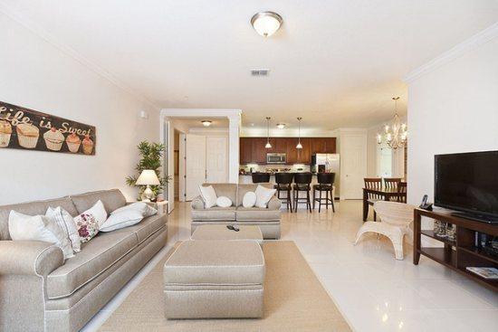 Living room - Vista Cay-Orlando-3 Bedroom Luxury Monterey-VC106 - Orlando - rentals