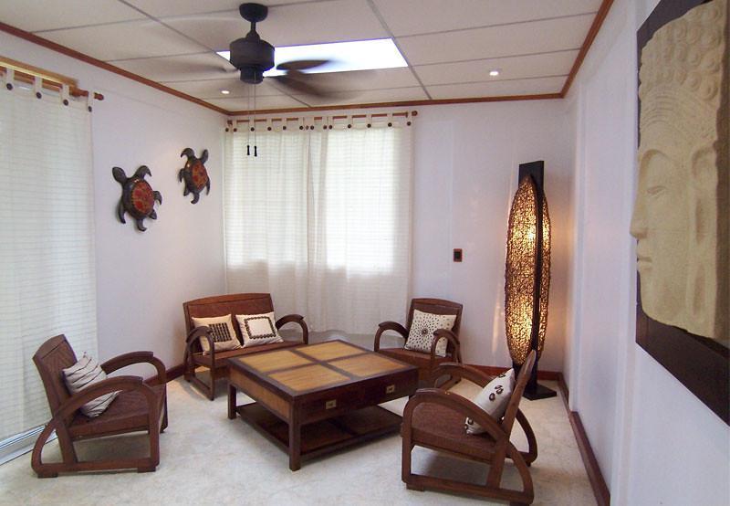 Living room - Robinson Beach Bungalow - Punta Uva - rentals