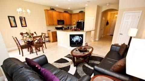 3 Bedroom 2.5 Bathroom Town Home in the Upscale Reunion Resort. 863AC - Image 1 - Orlando - rentals