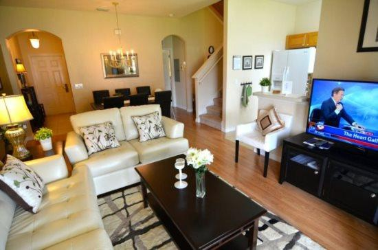 Luxurious 3 Bed 3 Bath Townhome Near Disney. 2112CA - Image 1 - Orlando - rentals