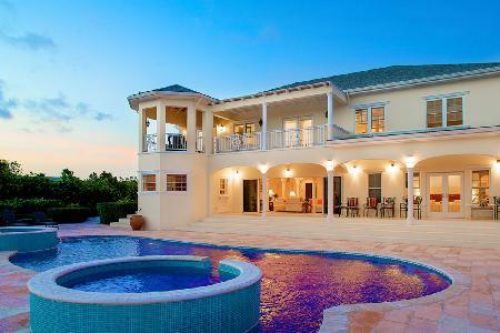 Rafters on pristine grounds facing the canal with pool- jacuzzi & dock - Image 1 - Leeward - rentals