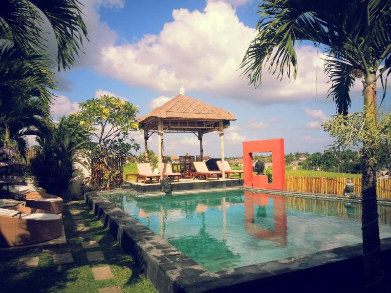 Relaxing day Bale and pool overview - Marene Luxury 5/8 Bedroom Villa,Umalas,10 minutes from Seminyak - Seminyak - rentals