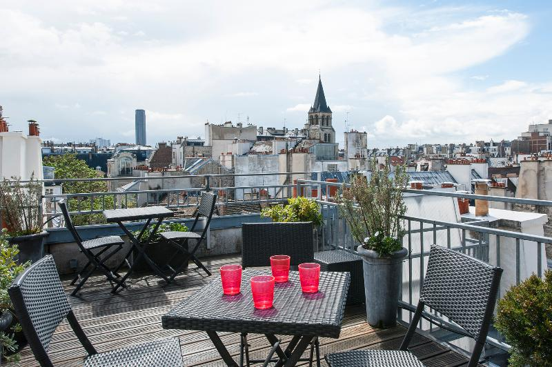 The Terrace - Hip 2 bedroom duplex in Saint Germain - Paris - rentals