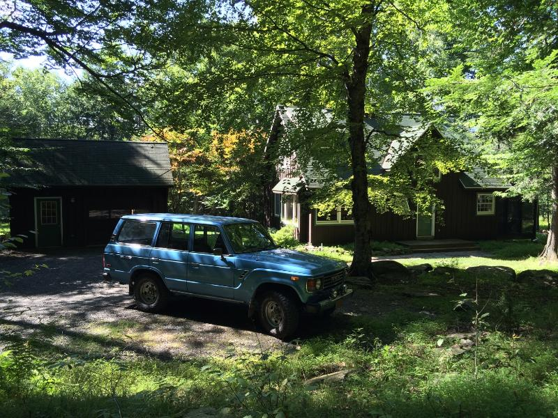 Cabin in summer. - Pet Friendly Cabin Doh-Ray Up At 1450 ft - Woodstock - rentals