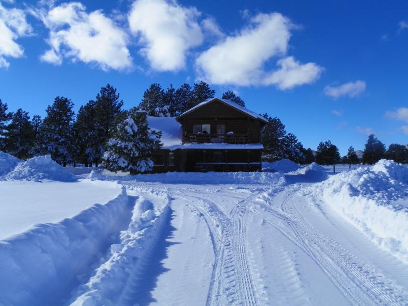 Winter scene - The Kirby Ranch near Parks/Williams, AZ - Parks - rentals