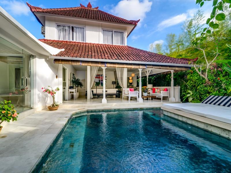 Esha Drupadi pool view - Esha Drupadi Seminyak II - New private villa  sleeps 8 - Seminyak - rentals