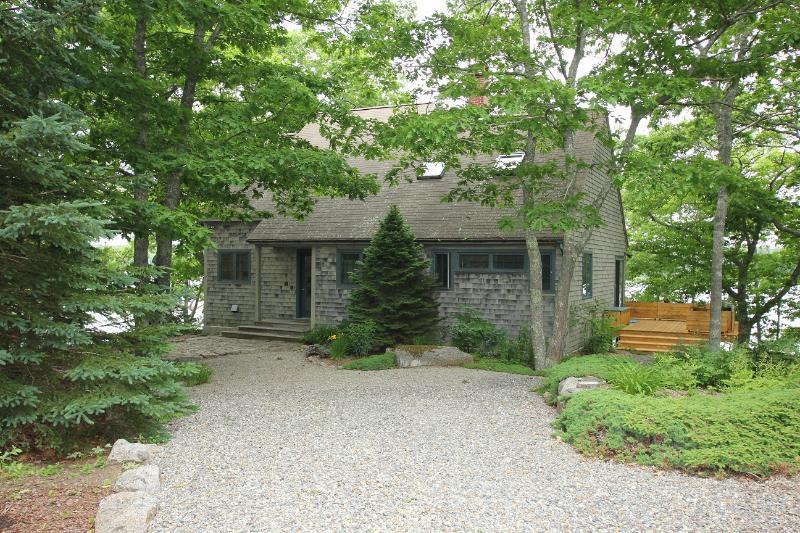 Exterior of School House Lane - School House Lane Cottage - Deer Isle - rentals