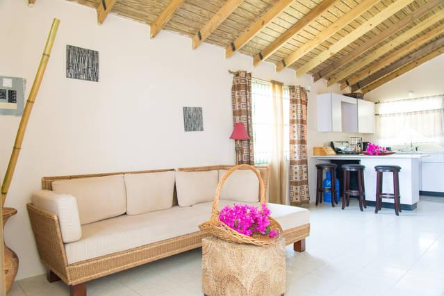 cosy living area - Rhyne Chateau- Two bedroom bungalow - Rose Hall - rentals