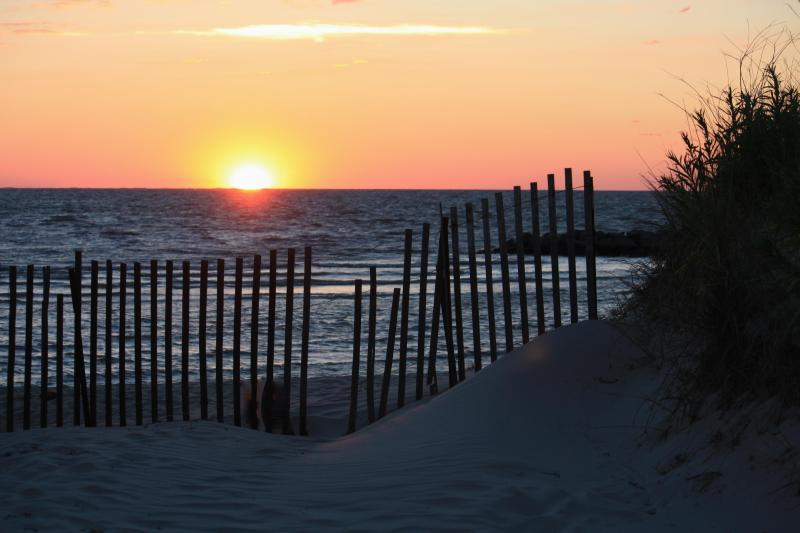 Sunset on Cape Charles Beach - 11th Heaven Golf and Beach at Bay Creek - Cape Charles - rentals