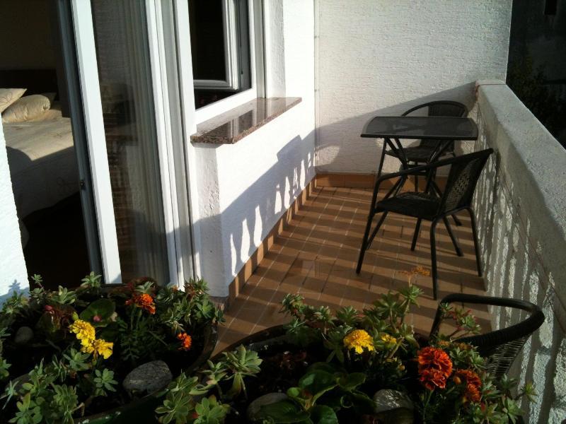 Balcony with sitting area-Unit 3, apartment 2-3 persons, Villa Vesna, Crikvenica, Croatia - Villa Vesna  Crikvenica -   Apartment balcony  seaview,  for 2 persons - Crikvenica - rentals